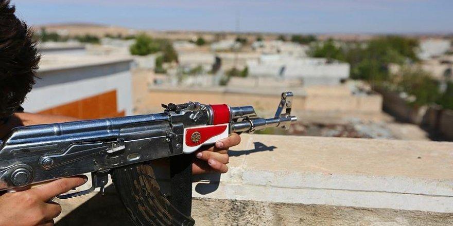 PKK'lı teröristlerden jandarma karakoluna taciz ateşi
