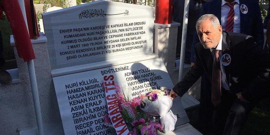 Nuri Killigil Paşa'nın mezarı onarıldı