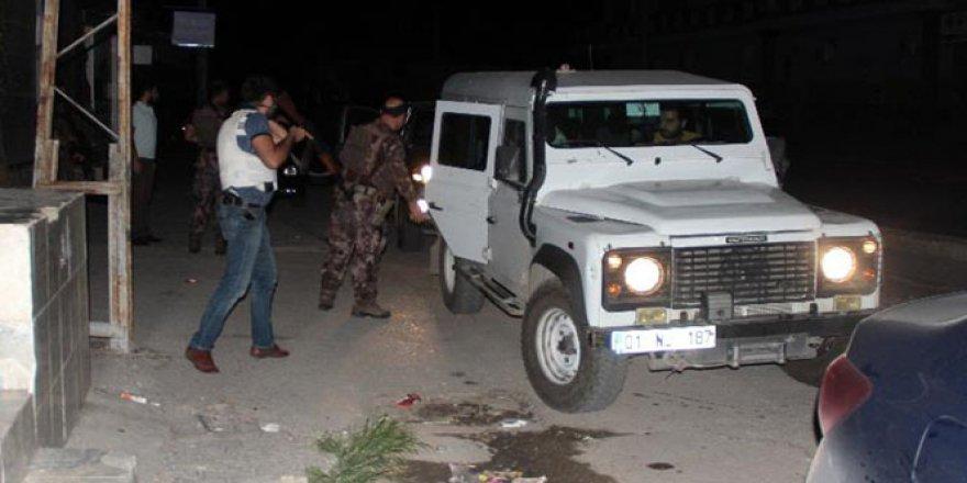 Uygulama noktasına ses bombası atıldı, polis operasyon başlattı