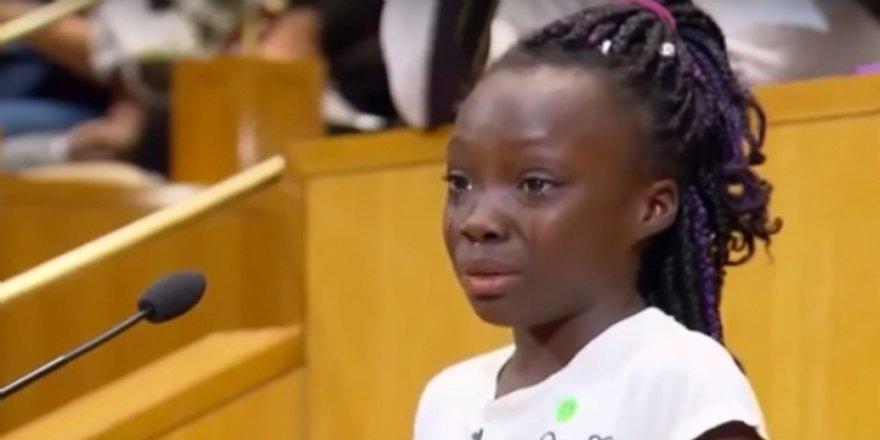 """ABD'de 9 yaşındaki çocuktan """"ırkçılık dersi"""""""