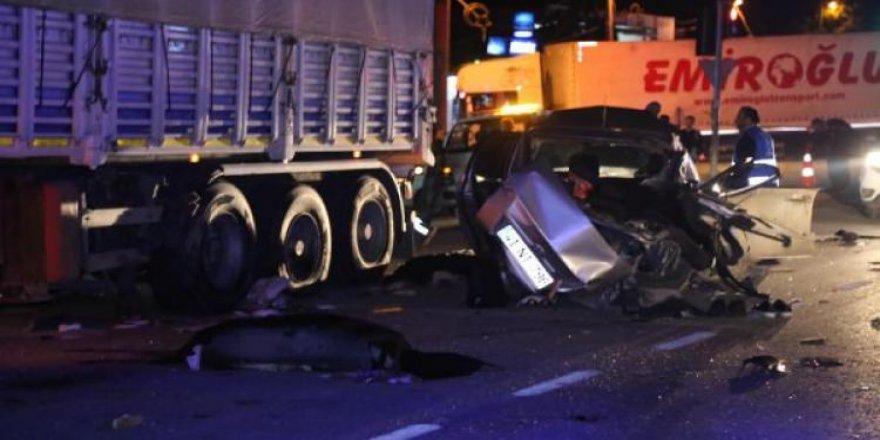 Kocaeli'de feci kaza: 3 ölü 2 yaralı