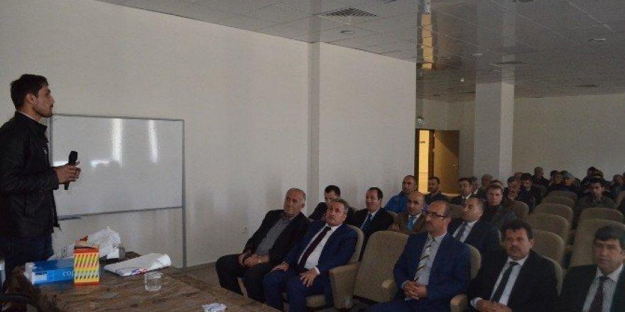 Erzurum GHSİM personeline iş sağlığı güvenliği eğitimi verildi