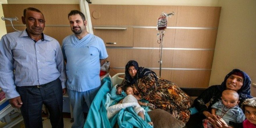 Kalça çıkığı olan çocuk ameliyatla sağlığına kavuştu