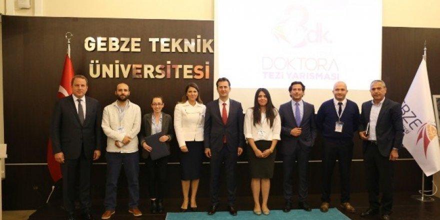 Doktora tezleri GTÜ'de yarıştı