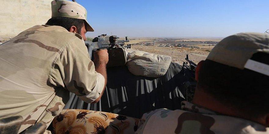 'Mara'da 12 köyü daha DAEŞ'in elinden kurtardı'