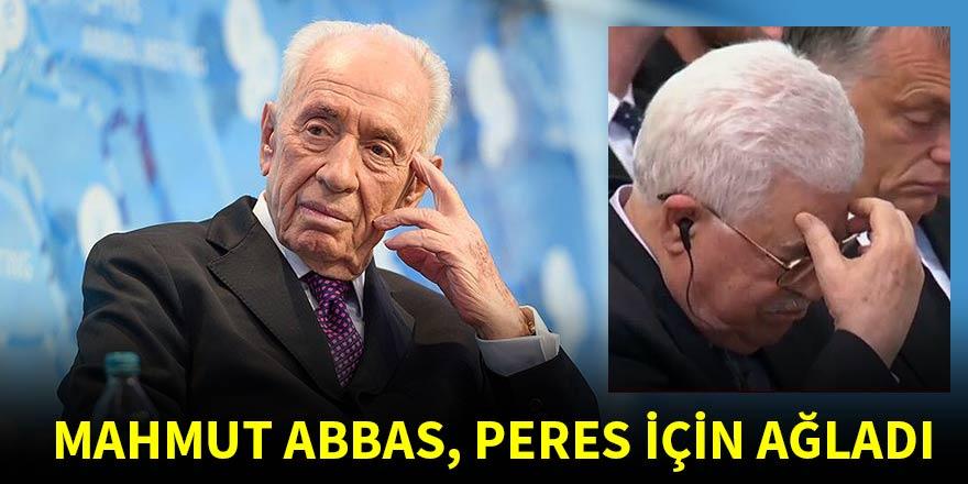 Filistin Devlet Başkanı Mahmud Abbas, Peres için ağladı