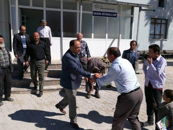 Başkan Özaltun'dan Çukurağıl Mahallesine ziyareti