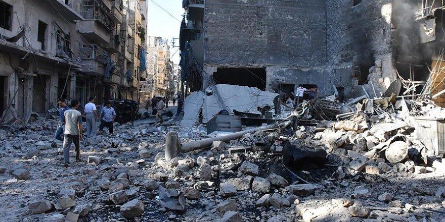 Halep'te 'deprem etkisine' yol açan saldırıda 30 kişi öldü