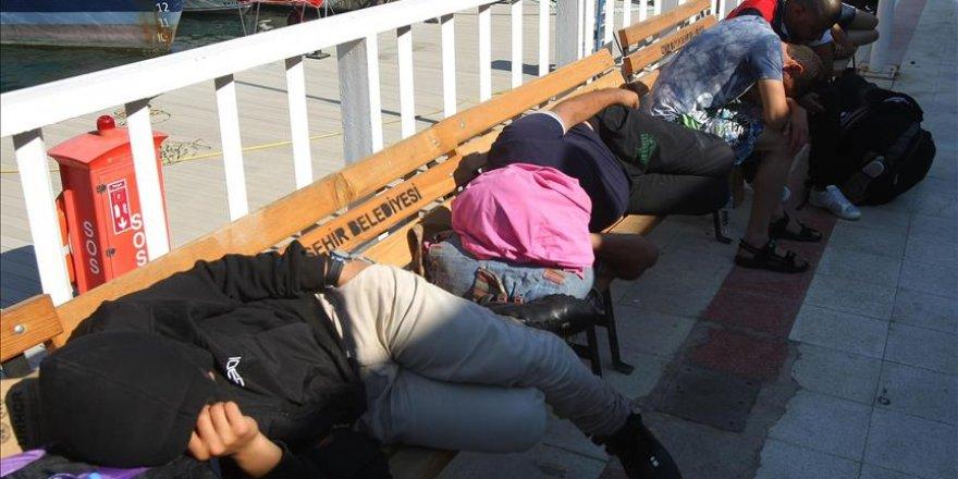 Ege Denizi'nde 148 yabancı uyruklu yakalandı
