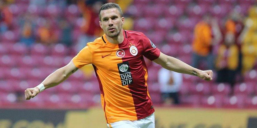 Galatasaraylı futbolcu Podolski: Takım bu sezon büyük kalite kazandı