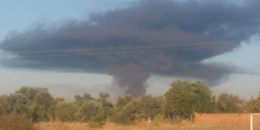 Aydın'da korkutan patlama ve yangın