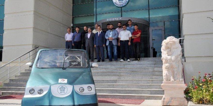 NEÜ Elektromobil yarışlarına iddialı olarak hazırlanıyor
