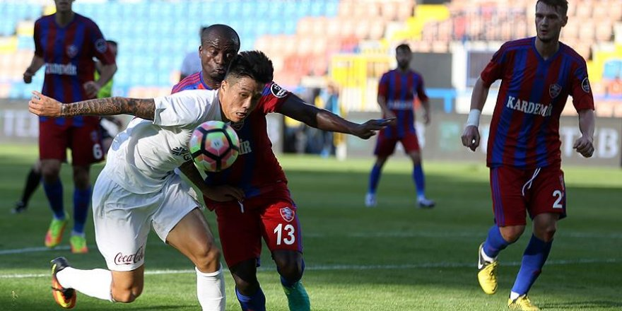 Trabzonspor deplasmanda farklı yenildi