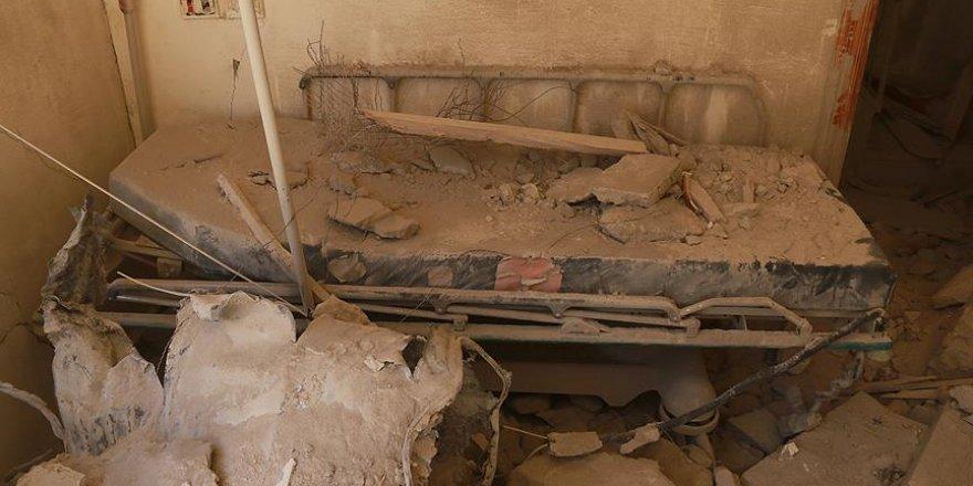 Fransa Halep'te sahra hastanesine düzenlenen saldırıyı kınadı