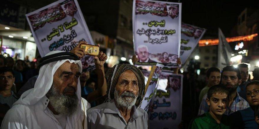 Gazze'de Abbas'a Peres tepkisi