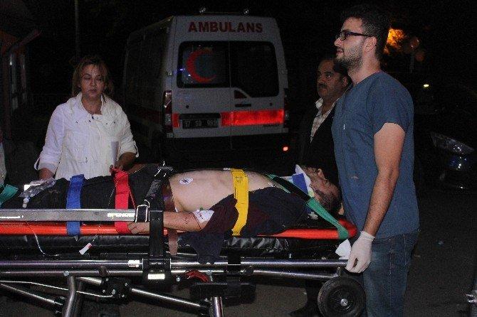 Kestane ağacından düşen genç, ağır yaralandı