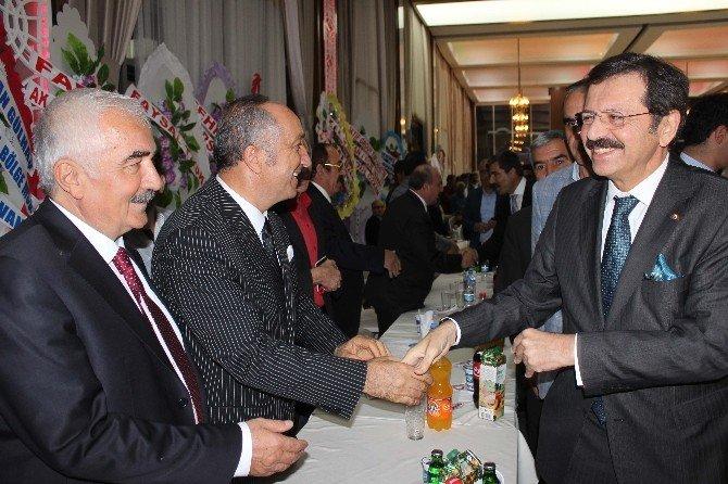 TOBB Genel Başkanı Hisarcıklıoğlu Muş'ta
