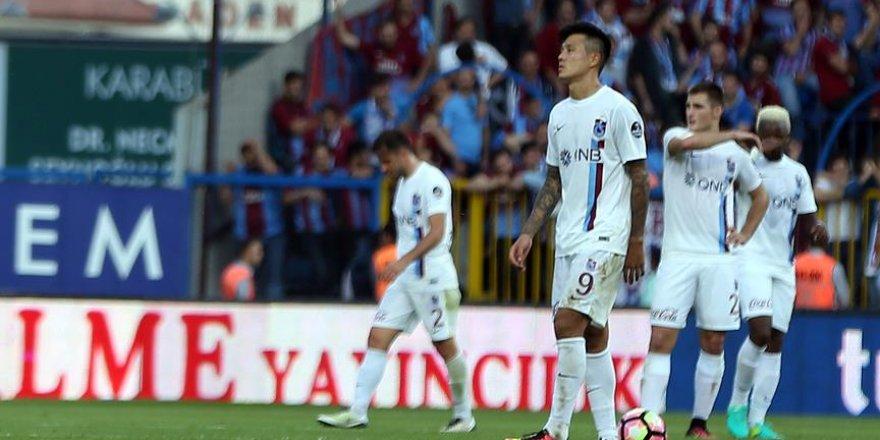 Trabzonspor'da farklı mağlubiyete tepki