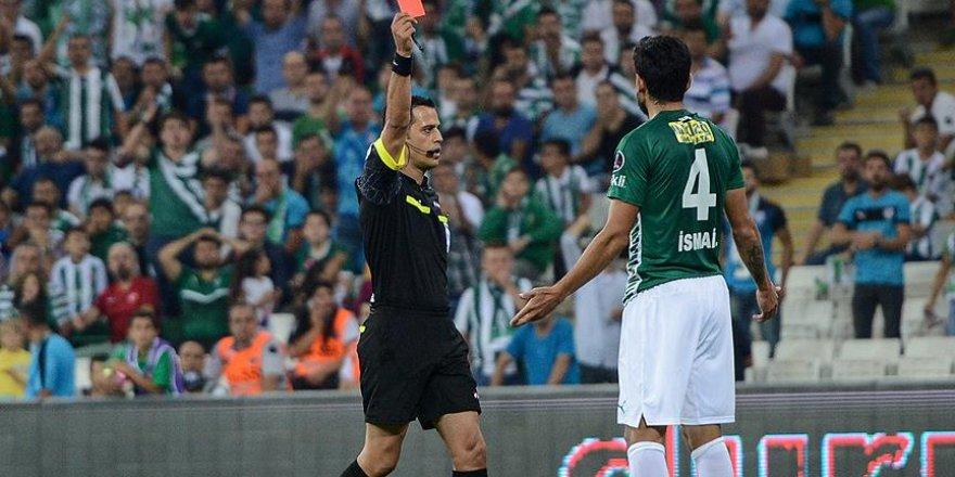 Bursaspor kırmızı karta abone