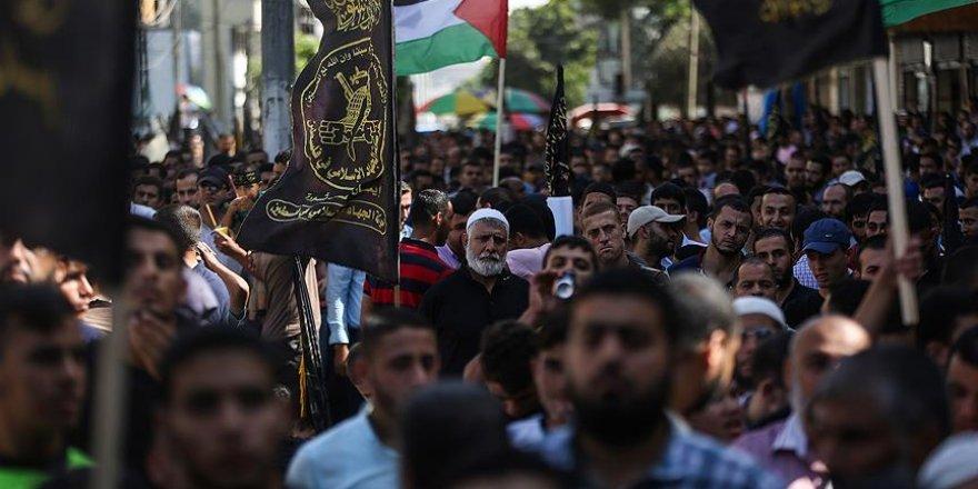 Filistin ayaklanmasının birinci yılında Gazze'de anıldı