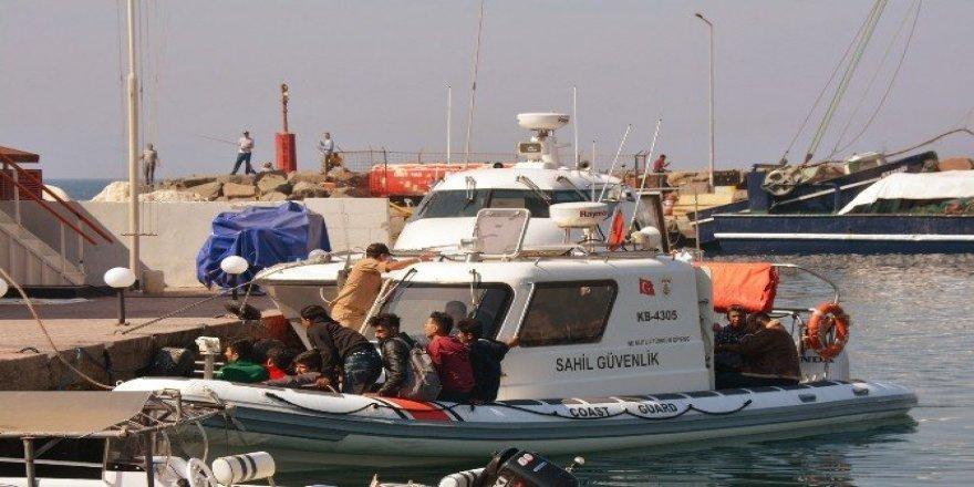 71 kaçak göçmen yakalandı