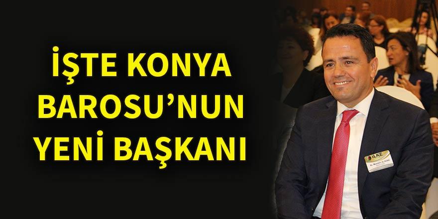 Konya Barosunun yeni başkanı Mustafa Aladağ