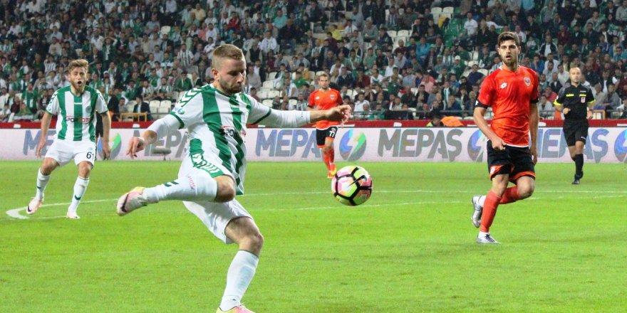Konyaspor 3 puanı tek golle aldı
