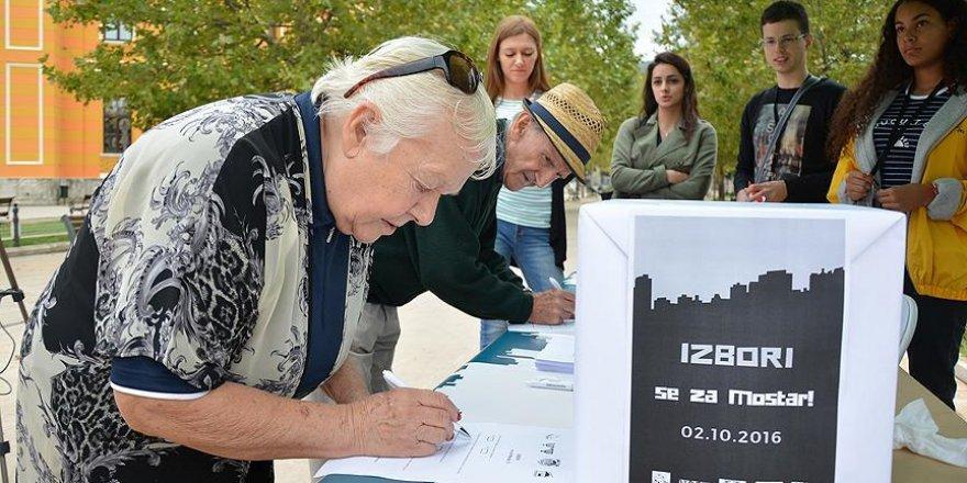 Bosna Hersek'te oy verme işlemi sona erdi