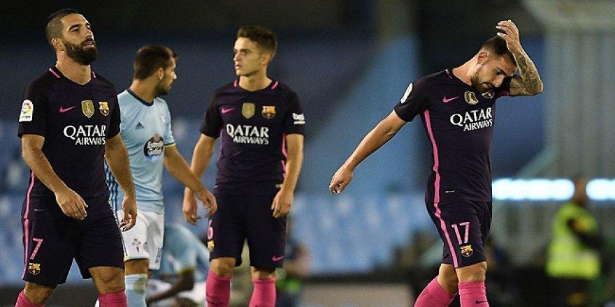 Barcelona, Celta Vigo deplasmanından puansız döndü