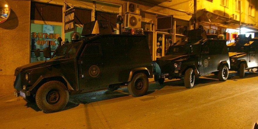 İzmir'de helikopter destekli terör operasyonu