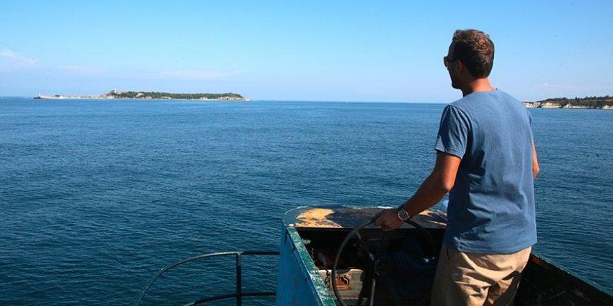 """Tarihi """"Kefken Adası"""" turizme açılmayı bekliyor"""