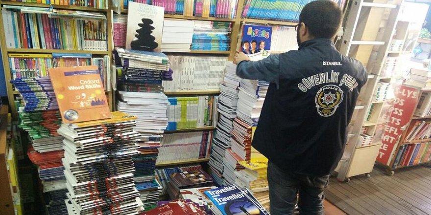 İstanbul'da korsan kitap operasonu