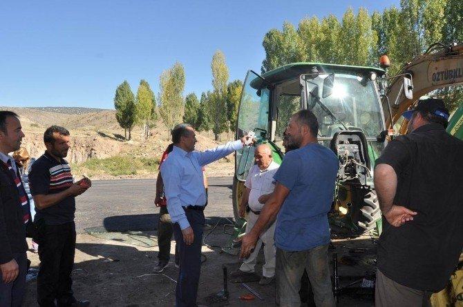 Başkan Tutal, asfalt çalışmalarını yerinde inceledi