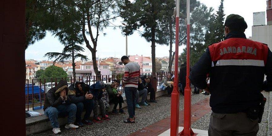 Edirne'de 114 kaçak yakalandı