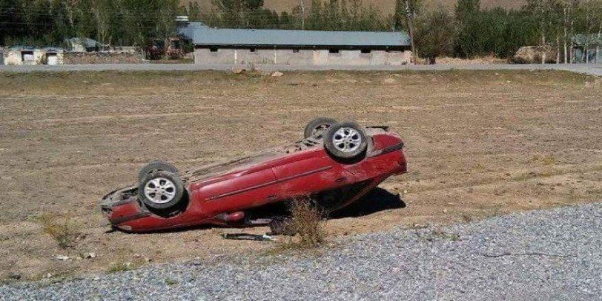 Muradiye'de trafik kazası; 1 yaralı