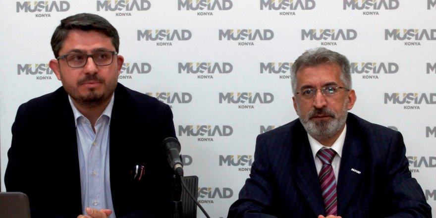 MÜSİAD Konya'da ekonomik açıdan 15 Temmuz konuşuldu