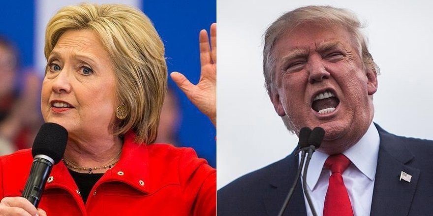 Clinton Trump'ın 5 puan önüne geçti