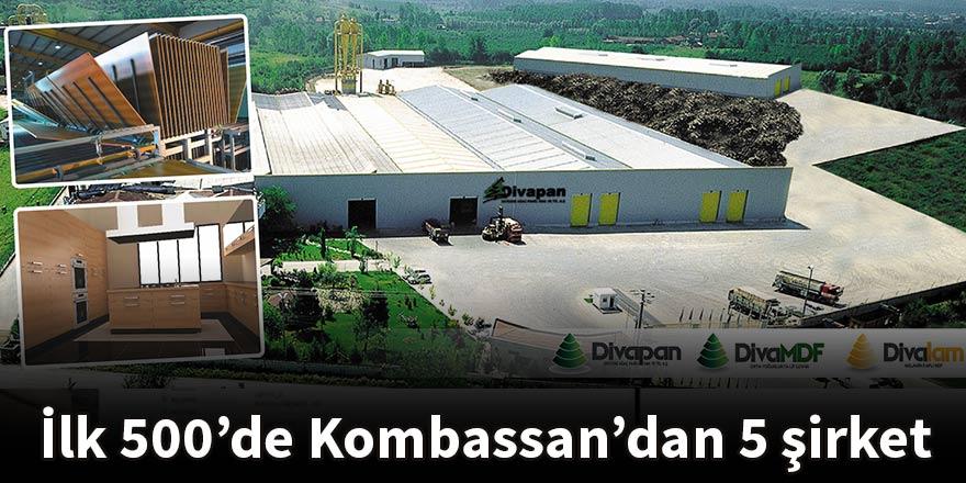 İlk 500'de Kombassan'dan 5 şirket