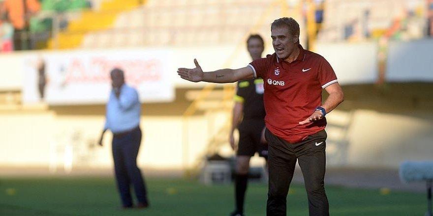 Trabzonspor'da Ersun Yanal'dan en kötü başlangıç