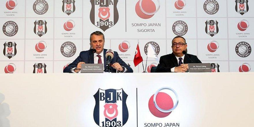 Beşiktaş Sompo Japan ile sponsorluğu uzattı