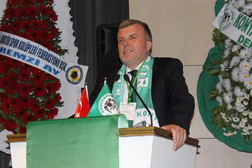 Konyaspor'un hedefi şampiyonluk