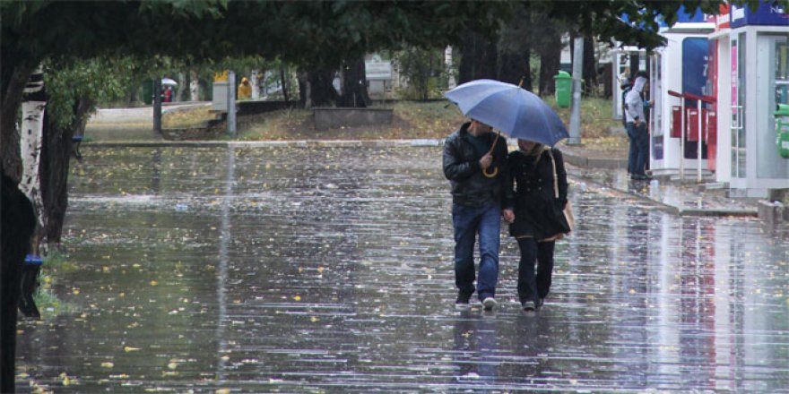 Konya ve çevresinde sağanak yağış bekleniyor