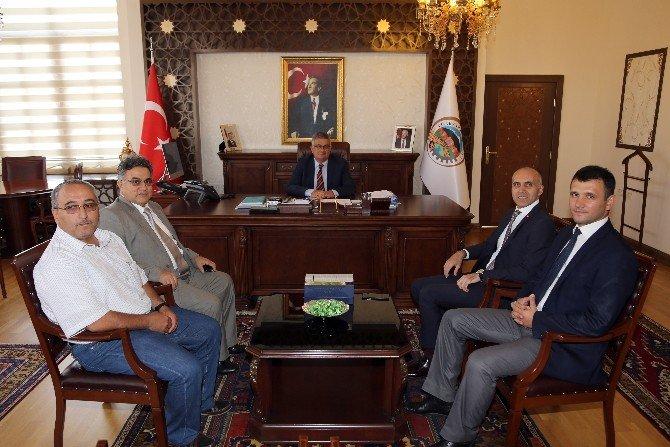 DSİ Müdürü Birol Çırar, Vali Pekmez'i ziyaret etti