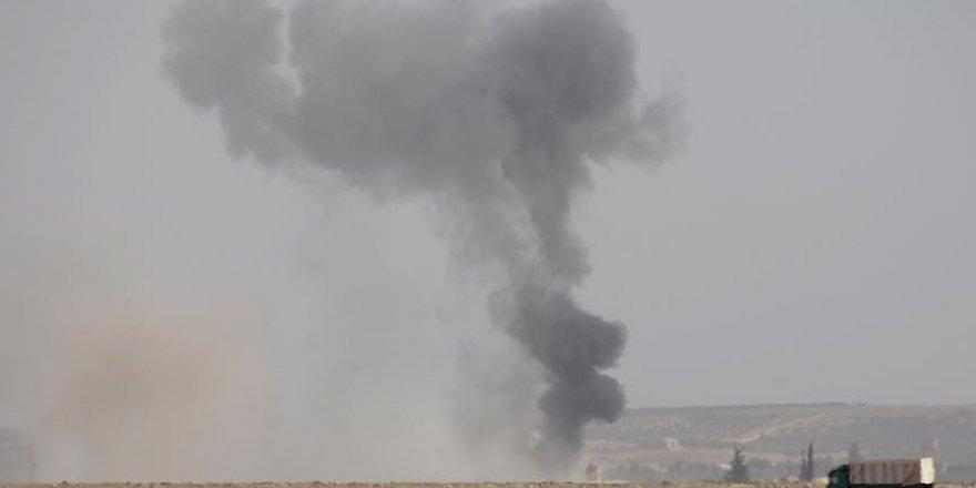 DAEŞ'e ait 4 bina içindeki teröristlerle imha edildi