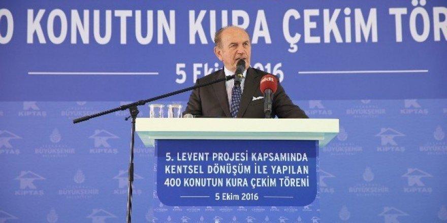 """Bakan Özhaseki: """"İstanbul'a hizmet etmeyi ibadet gibi görüyorum"""""""