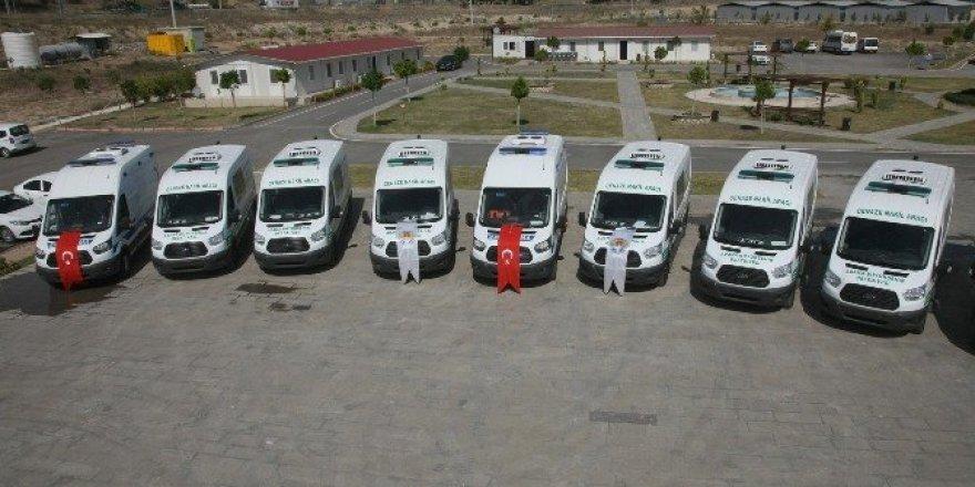 Büyükşehir'in hizmet aracı filosu güçleniyor