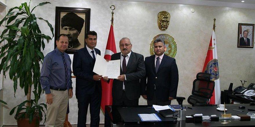 Başbakan Yıldırım'dan polis memuruna teşekkür mektubu