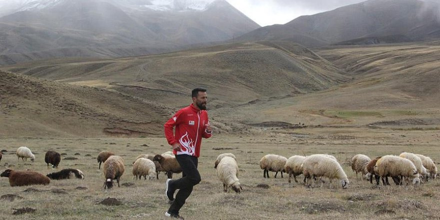Çobanlık yapan milli atletin gözü olimpiyatlarda