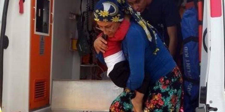 2.kattan düşen çocuk yaralandı
