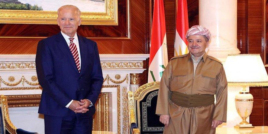 Biden, IKBY Başkanı Barzani ile telefonda görüştü